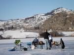 Northwest Ice Fishing Festival, Molson, Washington