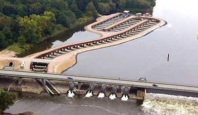 Elbe fishbridge