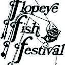 Logo for Flopeye Fish Festival Great Falls, South Carolina
