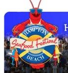 Logo for Hampton Beach Seafood Festival Hampton, New Hampshire