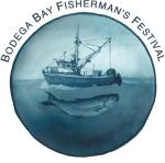 Logo for Bodega Bay Fisherman's Festival Bodega Bay, California