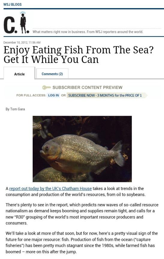 wsj fish