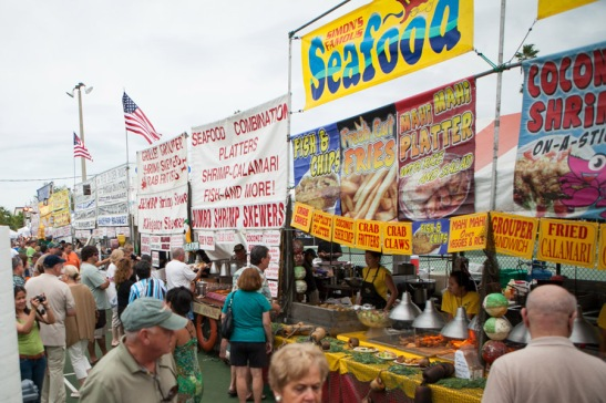 Photograph of the Everglades Seafood Festival, Florida