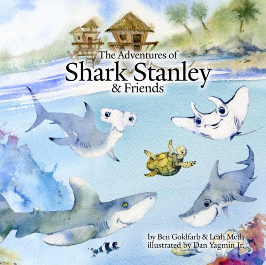 Front cover of The Adventures of Shark Stanley and Friends