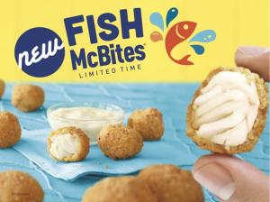 Fish McBites marketing photo