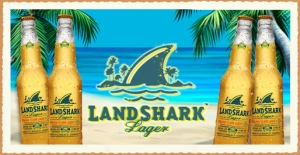 Logo for LandShark lager