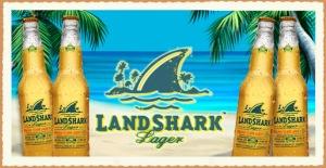 Logo for LandShark lager