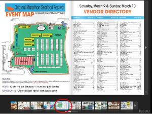 Portion of the Marathon Seafood Festival Guide