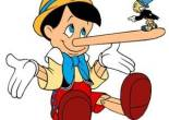 Picture of Pinocchio with a long nose